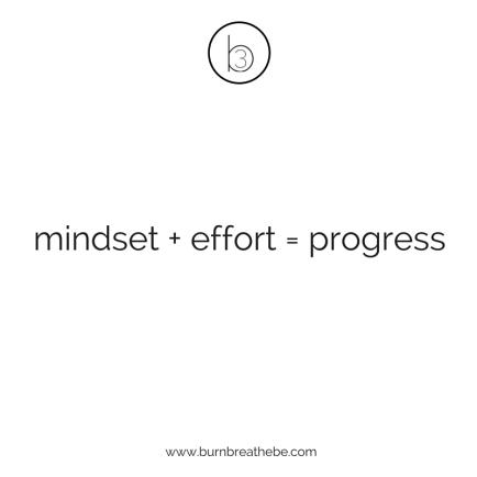 mindseteffortprogress