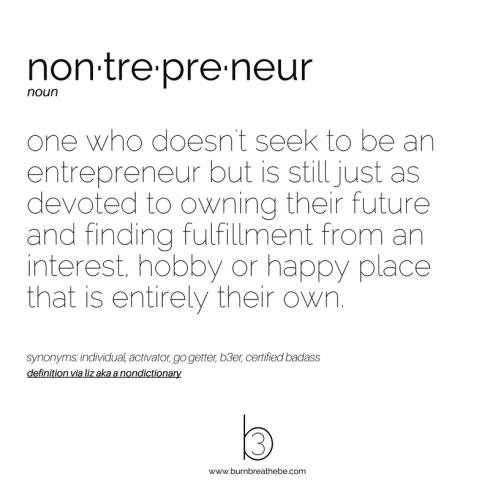 nontrepreneur